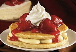 Resep Pancake Strawbery & Cara Membuat Pancake Strawberry